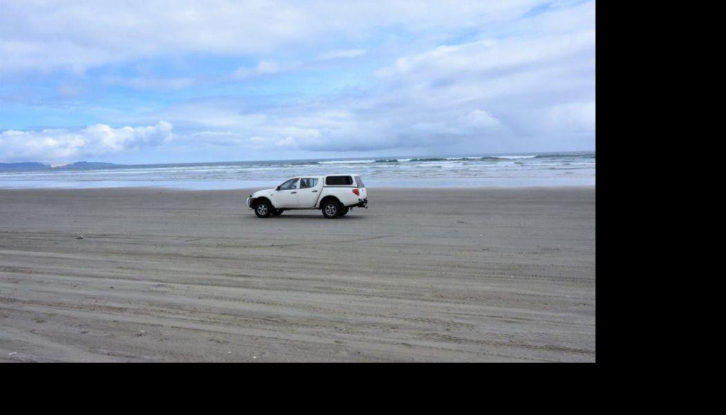 Jízdu po pláži