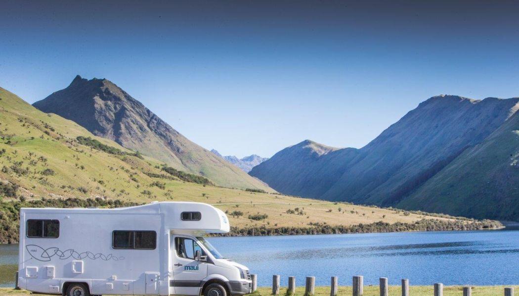 campervan a jezero